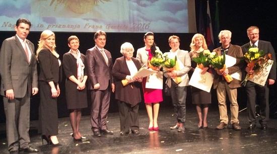 Podelitev nagrad in priznanj Frana Gerbiča