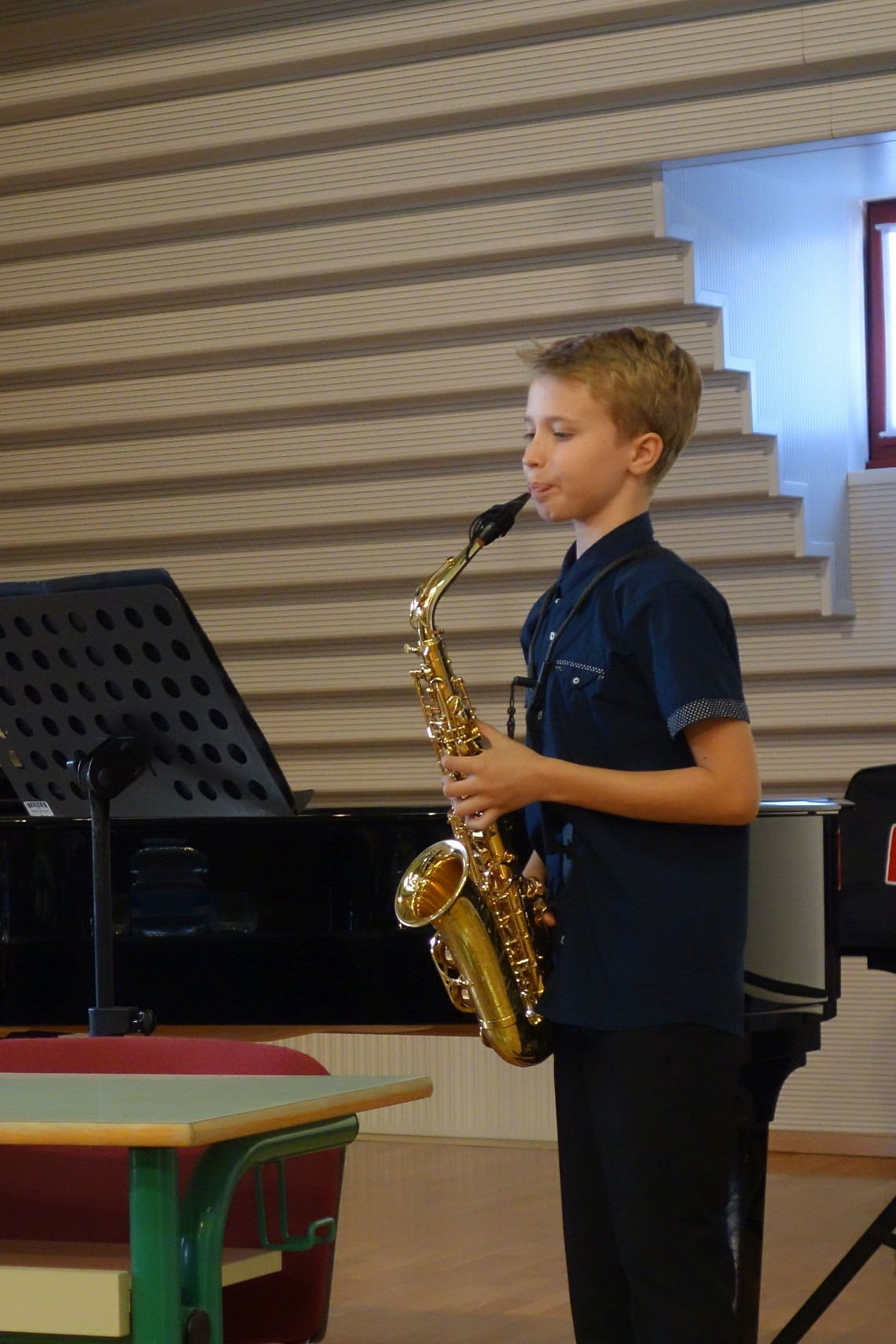 Anže Klančar Jurijavčič, saksofon  mentor: Bojan Zupančič, korepetitor: David Trebižan