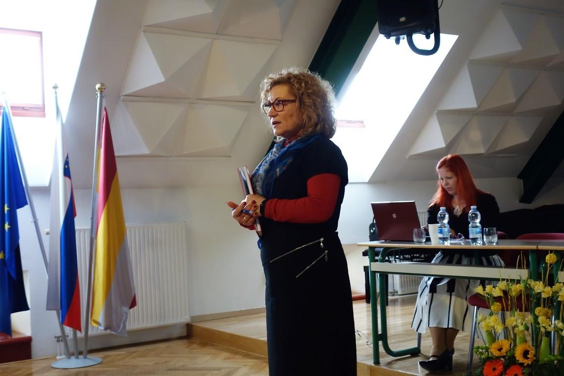Helena Meško, predsednica ZSGŠ