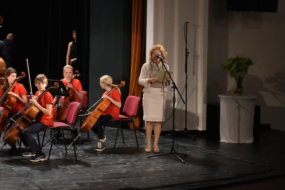 Ravnateljica Glasbene šole Lendava, Hajnalka Magyar
