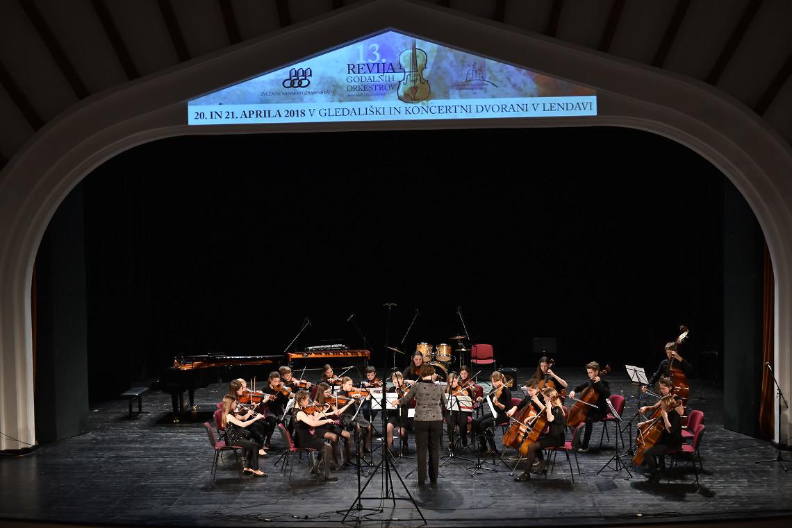 Glasbena šola Kranj Dirigentka: Urška Kordež
