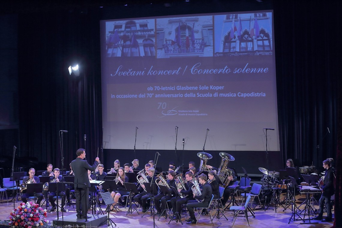 Portorož,04.10.2018 Glasbena šola Koper, Sveèani koncert ob 70. letnici glasbene šole Koper