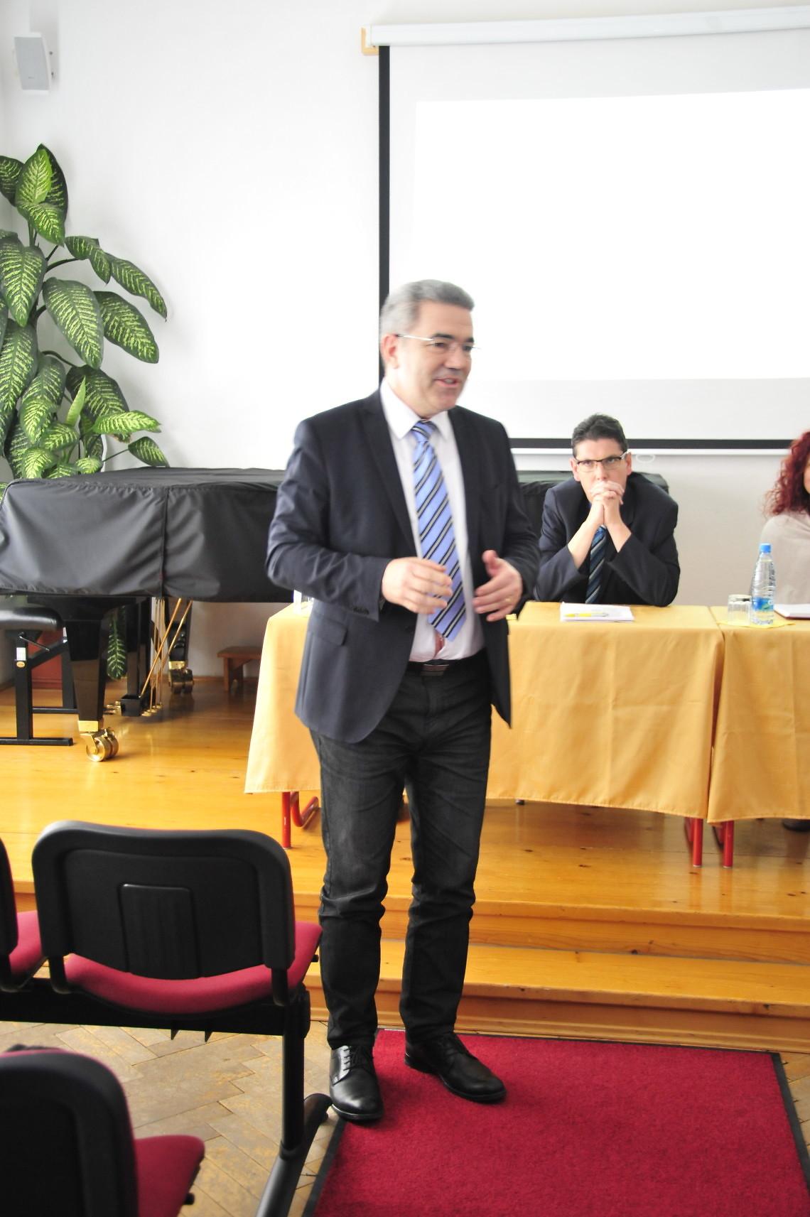 Marko Vatovec, dekan Akademije za glasbo